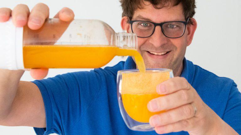How to Carbonate Citrus Juices