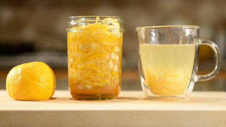 Korean Honey Citron Tea (Palace Style), from Scratch